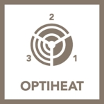 Induktionskochfeld optiheat