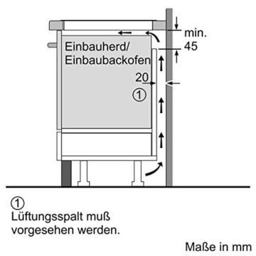 Siemens EH645BB17 iQ300  einbau
